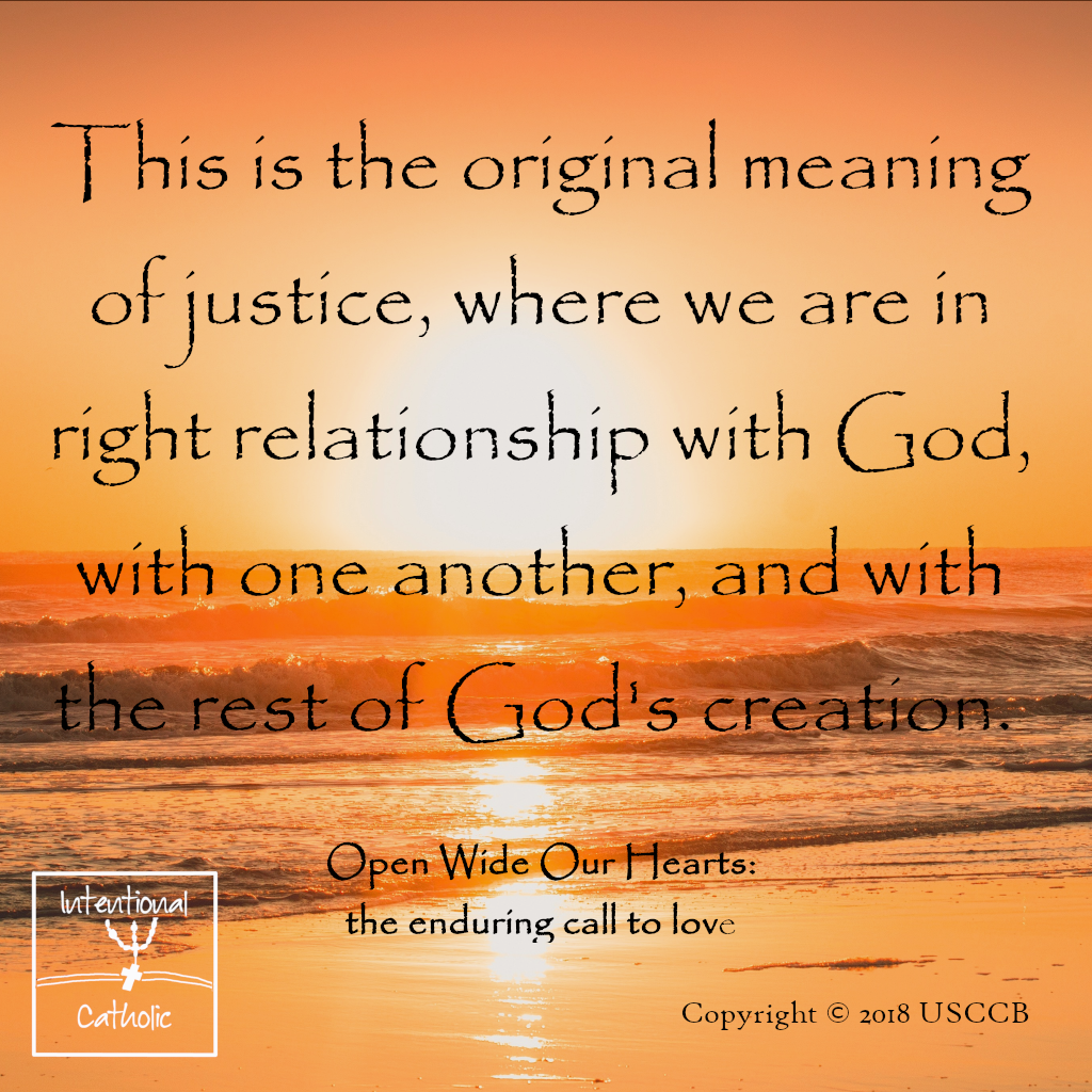 Open Wide - Meaning of Justice