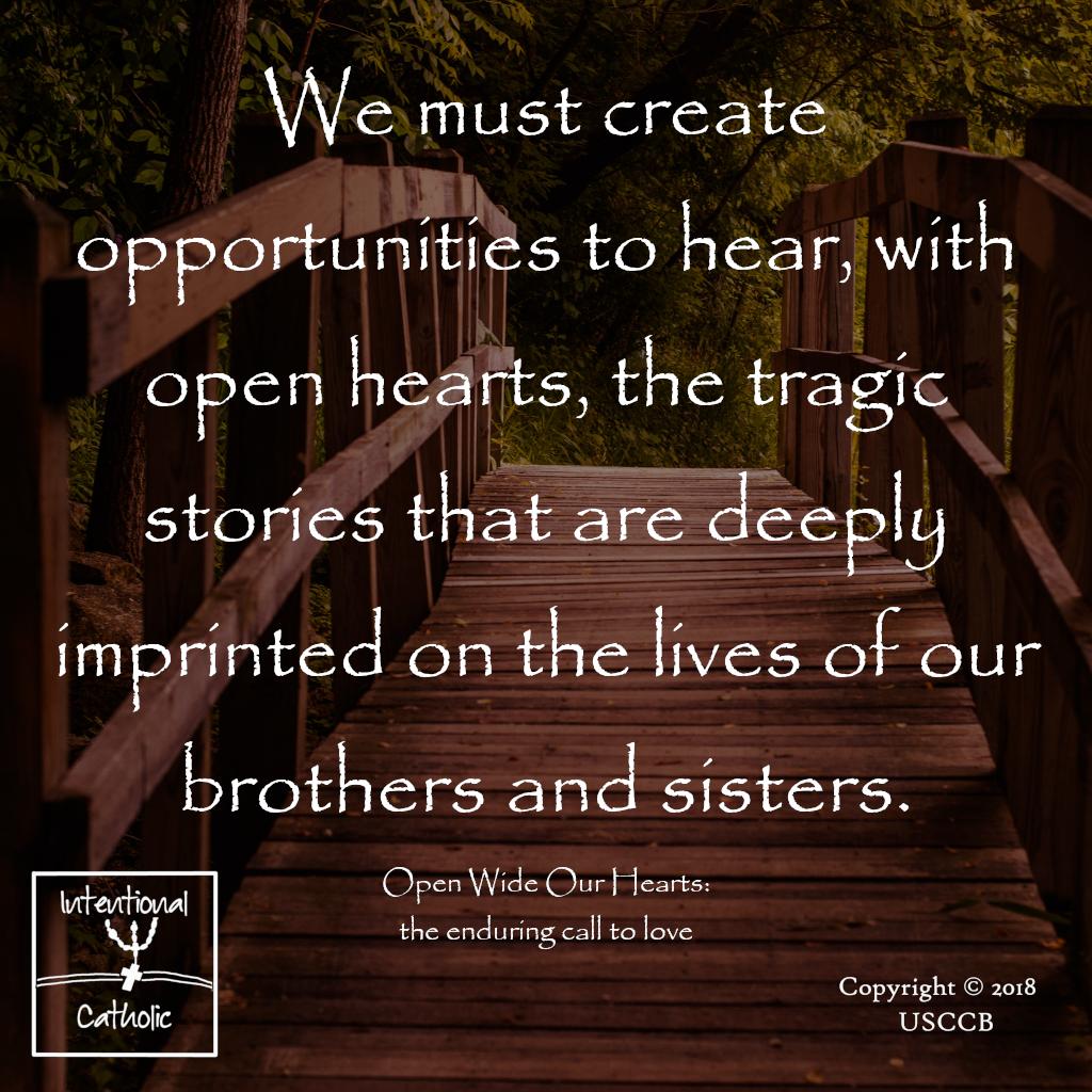 Open Wide - opportunities to hear