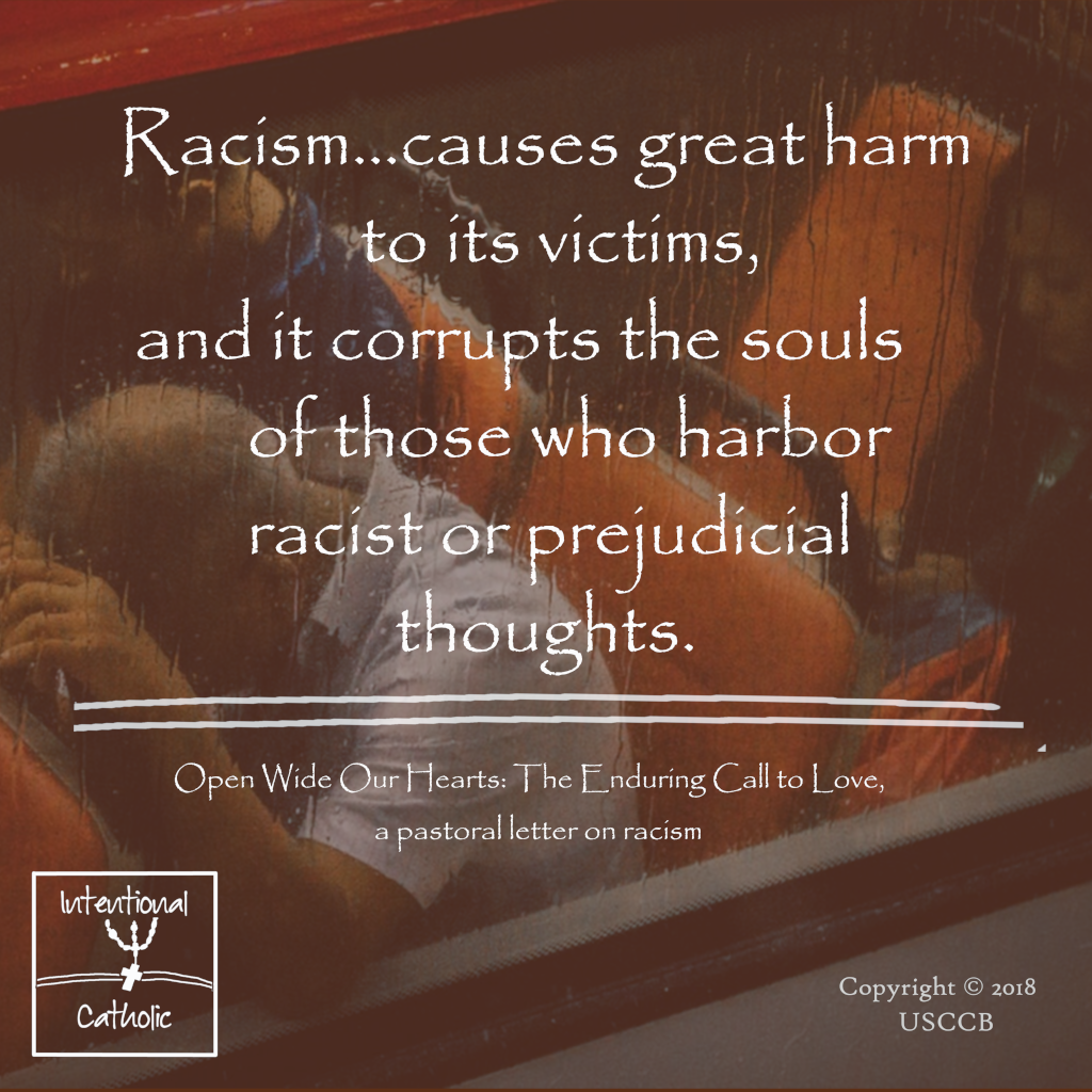 Open Wide - Racism causes harm, corrupts