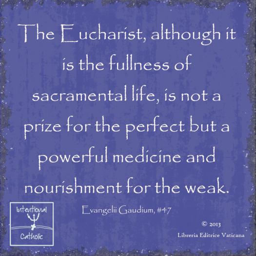 EG-Eucharist medicine